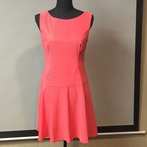 Sleeveless Coral Dess